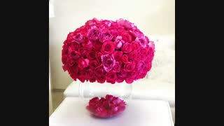گلدون گل رز