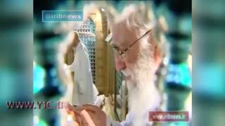 مراسم غبار روبی حرم مطهر امام رضا ع با حضور مقام معظم رهبری-یکشنبه 1 مرداد