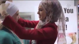 عکس المل جالب زنان خارجی به حجاب!