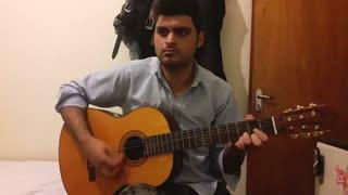 عاشقانه از فرزاد فرزین با گیتار نت و تبلچر بهنام