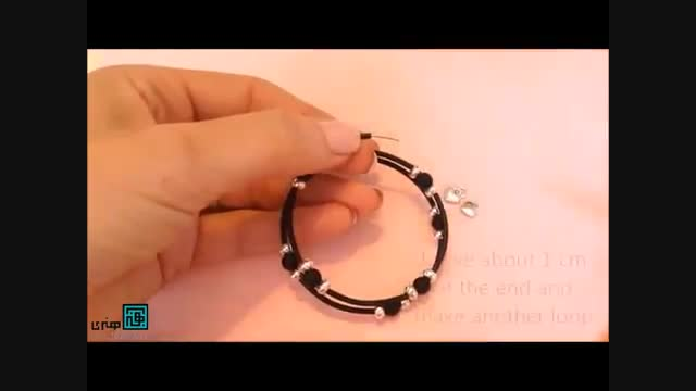 آموزش ساخت دستبند مارپیچ