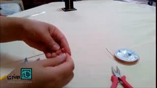 آموزش ساخت انگشتر مفتولی