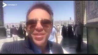 نیمه شعبان درجوار حرم امام رضا..