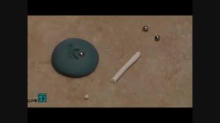 آموزش ساخت انگشتر با نقش حروف با خمیر فیمو