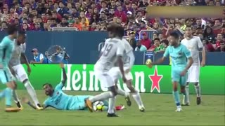 بارسلونا 1-0 منچستریونایتد ( نیمه دوم - کامل )
