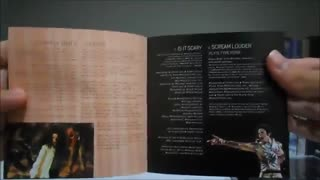 "انباکسینگ آلبوم ""خون روی زمین رقص"" مایکل جکسون 1997"