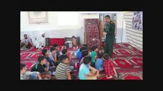 پرده خوانی شهدا توسط فرمانده سپاه