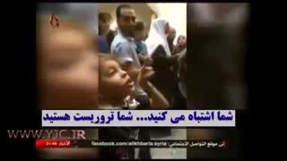 شجاعت کمنظیر دختربچه فلسطینی در مقابل چکمهپوشان اسرائیل