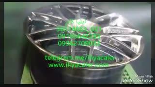 فروش دستگاه مخمل پاش و آبکاری و هیدروگرافیک