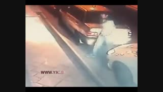 دزدی خودرو در خیابان هنگام