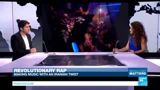 مصاحبه علیرضا جی جی با شبکه ی فرانسوی