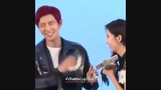 چانیول و سئوهیون---chanyeol and seohyun