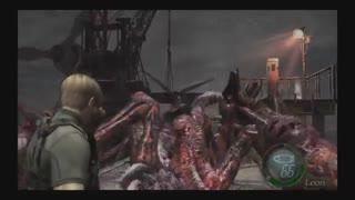 گیم پلی.. ...کشتن قول آخر رزدنت اویل 4....PS4
