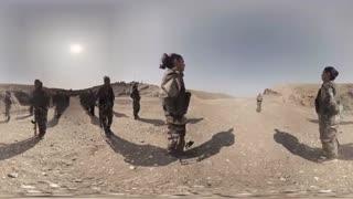 ویدیو 360 درجه از تمرین دختران ارتش کردستان مقابل داعش