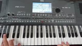 آهنگ شاد از حمیرا با ارگ Pa600