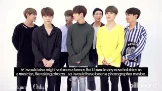 ❤ مصاحبه تازه منتشر شده ی BTS با بیلبورد با هارد ساب انگلیسی ❤