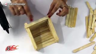 ایده با چوب بستی