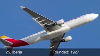 پنجاه شرکت هواپیمایی برتر جهان در حوزه  ایمنی حمل و نقل هوایی