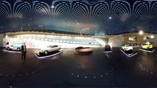 ویدیو 360 درجه از گشت و گذار در موزه بنز