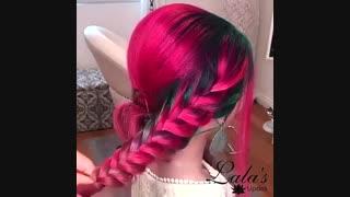مدل بافت موی بسیار زیبا برای تولد(2)