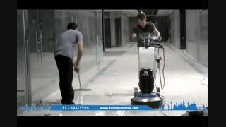 عملیات بهسازی سنگ توسط دستگاه های پیشرفته صنعتی