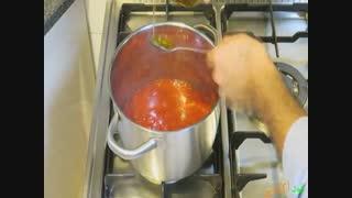 طرز تهیه سس گوجه فرنگی خانگی  صددرصد طبیعی و ارگانیک در فودآکادمی