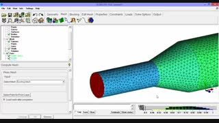 آموزش نرم افزار icem-cfd و fluent و cfd-post به کوشش مهندس احسان الله سعادتی گروه پی تک-درس چهارم