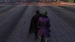 نبرد بین جوکر و بتمن و هارلی کویین BATMAN VS JOKER & HARLEY QUINN