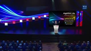 کلیپ طنز سخنرانی علی غلامی در مجامع بینالمللی درباره گرمای جنوب