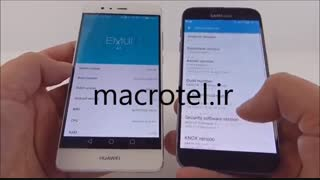 مقایسه باتری Huawei P9وGalaxy S7درmacrotel.ir