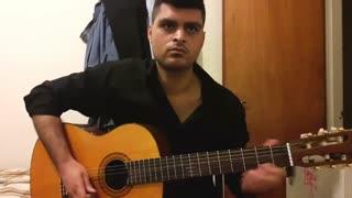 ملودی دلگیری از ماکان بند با گیتار نت و تبلچر بهنام
