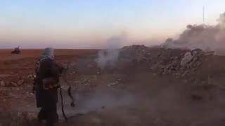 فیلم لحظهی اسارت شهید محسن حججی توسط داعش