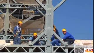 ساخت برج 30 طبقه در 15 روز (چین)