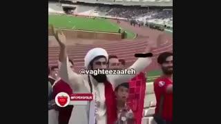 هوادر تراختور آذربایجان  با لباس روحانیت