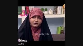 گریه مجری تلویزیون در برنامه زنده
