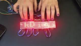 آموزش ساخت تابلو روان با برد آردوینو Arduino و ماژول دات ماتریس Dot matrix