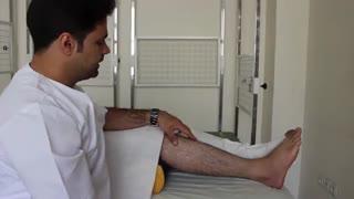 درمان درد ساق پای ورزشکاران با طب سوزنی درای نیدلینگ