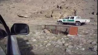 حمله پلنگ به شکارچی
