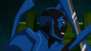 مبارزه دیمین وین(رابین پنجم:پسر بتمن) با بلو بیتل (Justice League vs Teen Titans - Injustice 2)