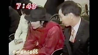 Michael Jackson in South Korea 1997 rare _ فیلم کمیاب از مایکل جکسون و رئیس جمهور کره جنوبی
