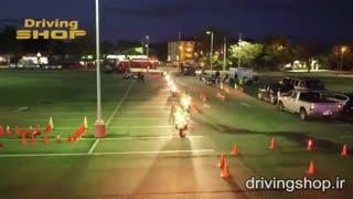 روش آموزش فنون موتورسواری حرفهای به افسران پلیس در ایالاتمتحده