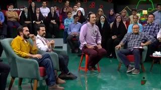 قسمت دوم مسابقه ادابازی در خندوانه - بهزاد خداویسی و قربان نجفی در گروه ریسه امید نعمتی و مهیار طهماسبی در گروه پالت