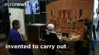 روباتی برای اجرای مناسک مذهبی ترحیم در ژاپن