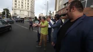 حضور میدانی رضا کیانیان برای اصلاح رفتارهای ترافیکی