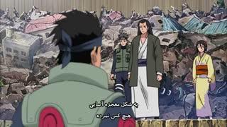 انیمه ناروتو شیپودن|زبان انگلیسی|قسمت 390|زیرنویس فارسی|تصمیم هانابی (Naruto Shippuden)