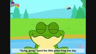 Little green frog  قورباقه ی سبز کوچولو