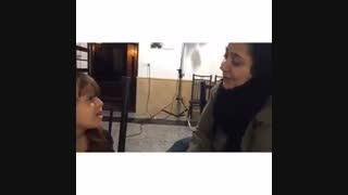 دلبری همراز بازیگر کوچولوی عاشقانه برای خانوم شهره لرستانی