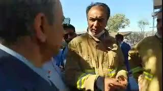 دو آتش سوزی در اولین روز کاری شهردار جدید تهران