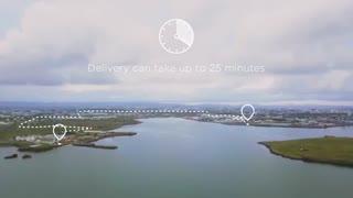 جدیدترین و سریع ترین روش تحویل غذا در اروپا