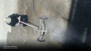 تخریب بتن با آب فشار قوی